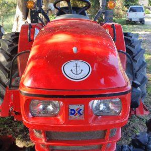 FR Garlic tractor